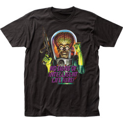 Image for Mars Attacks T-Shirt - Intelligent Life