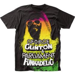 Image for Funkadelic Subway T-Shirt - George Clinton Big Print