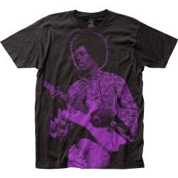 Image for Jimi Hendrix Subway T-Shirt - Purple Haze Big Print