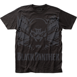 Image for Black Panther Subway T-Shirt - Shadow Big Print
