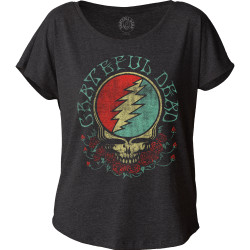 Image for Grateful Dead Steal Your Face Juniors Dolman