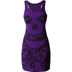 Image for Misfits All Over Print Dress - Purple