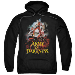 Image for Army Of Darkness Hoodie - Bloody Poster