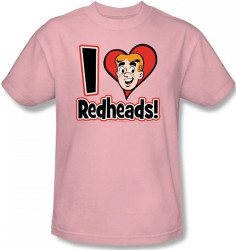 Image for Archie Comics T-Shirt - I Love Readheads
