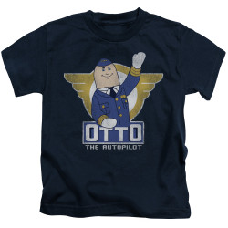 Image for Airplane Otto Kid's T-Shirt