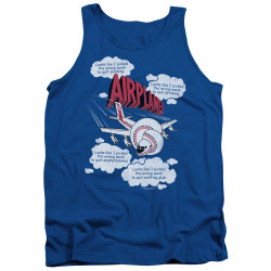 Image for Airplane Tank Top - Looks Like I Picked the Wrong Week...