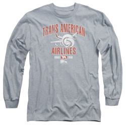 Image for Airplane Long Sleeve Shirt - Trans American Airlines
