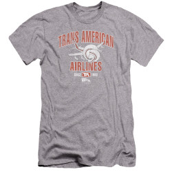 Image for Airplane Premium Canvas Premium Shirt - Trans American Airlines