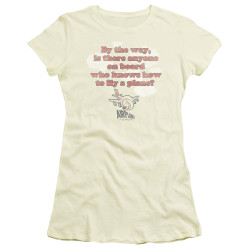 Image for Airplane Girls T-Shirt - Fly a Plane?