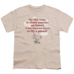Image for Airplane Youth T-Shirt - Fly a Plane?