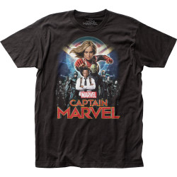 Image for Captain Marvel T-Shirt - Group Shot