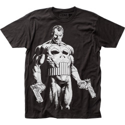 Image for The Punisher Subway T-Shirt - The Big Nothing Big Print