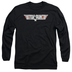 Image for Top Gun Long Sleeve Shirt - Logo