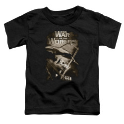 Image for War of the Worlds Death Rays Poster Toddler T-Shirt