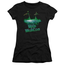 Image for War of the Worlds Juniors Premium Bella T-Shirt - Global Attack