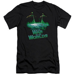 Image for War of the Worlds Premium Canvas Premium Shirt - Global Attack