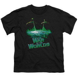 Image for War of the Worlds Youth T-Shirt - Global Attack