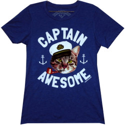 Image for David & Goliath Girls T-Shirt - Captain Awesome