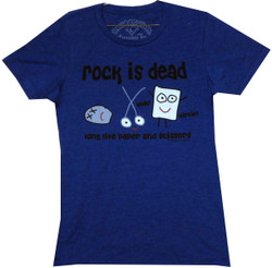 Image for David & Goliath Girls T-Shirt - Rock is Dead