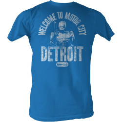 Image for Robocop T-Shirt - Welcome To Motor City Detroit