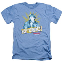 Image for Tommy Boy Heather T-Shirt - Holy Schnikes