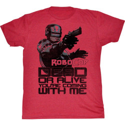 Image for Robocop T-Shirt - Dead or Alive