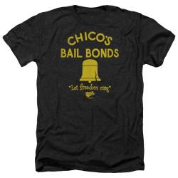 Image for Bad News Bears Heather T-Shirt - Chico's Bail Bonds