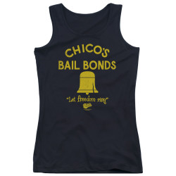 Image for Bad News Bears Girls Tank Top - Chico's Bail Bonds