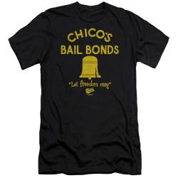 Image for Bad News Bears Premium Canvas Premium Shirt - Chico's Bail Bonds