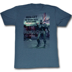 Image for Robocop T-Shirt - The Future has a Silver Lining