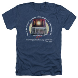 Image for Beverly Hills Cop Heather T-Shirt - Nicest Police Car