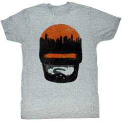 Image for Robocop T-Shirt - Sunset over Delta City