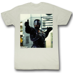 Image for Robocop T-Shirt - Thumbs and Ammo