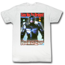 Image for Robocop T-Shirt - Just Say No Again