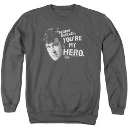 Image for Ferris Bueller's Day Off Crewneck - My Hero