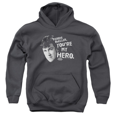 Image for Ferris Bueller's Day Off Youth Hoodie - My Hero
