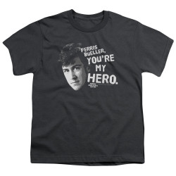 Image for Ferris Bueller's Day Off Youth T-Shirt - My Hero