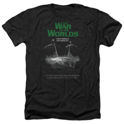 Image for War of the Worlds Heather T-Shirt - Attack Poster
