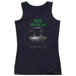 Image for War of the Worlds Girls Tank Top - Attack Poster