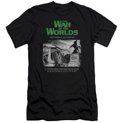 Image for War of the Worlds Premium Canvas Premium Shirt - Attack People Poster