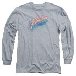Image for Flashdance Long Sleeve Shirt - Spray Logo