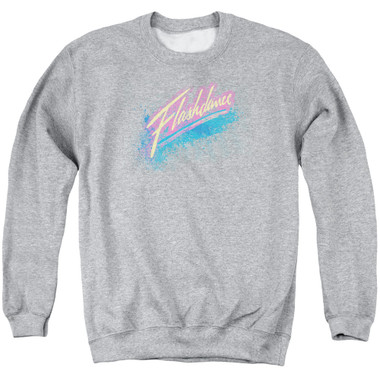 Image for Flashdance Crewneck - Spray Logo