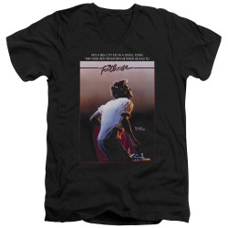 Image for Footloose V Neck T-Shirt - Poster