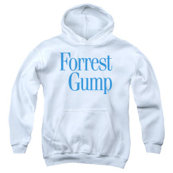 Image for Forrest Gump Youth Hoodie - Logo