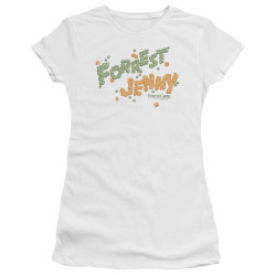 Image for Forrest Gump Girls T-Shirt - Peas and Carrots