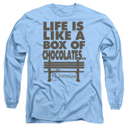 Image for Forrest Gump Long Sleeve Shirt - Life