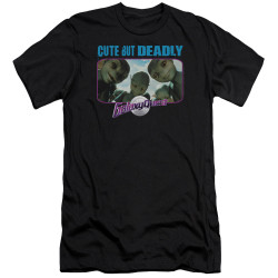 Image for Galaxy Quest Premium Canvas Premium Shirt - Cute but Deadly