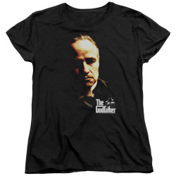 Image for The Godfather Womans T-Shirt - Don Vito
