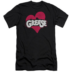 Image for Grease Premium Canvas Premium Shirt - Heart