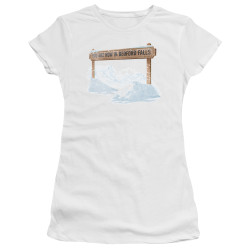 Image for It's a Wonderful Life Girls T-Shirt - Beford Falls